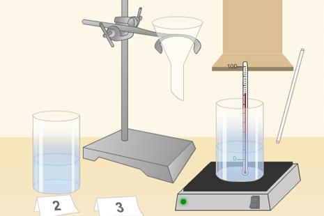 Valgomosios druskos tirpumo priklausomybė nuo vandens temperatūros